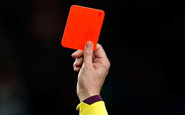 Medium red card